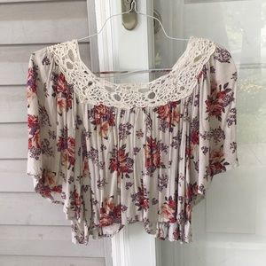 Boho Chic Crop Top